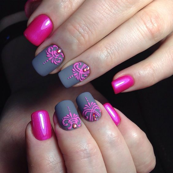30 Most Eye Catching Nail Art Designs To Inspire You - Page 2 of 32 - Nail Arts Fashion