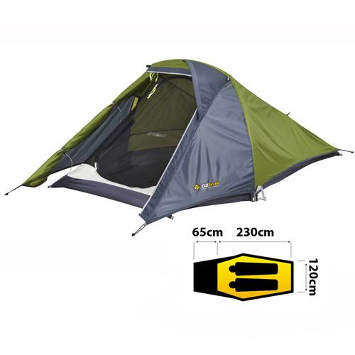 OZTRAIL STARLIGHT (WEIGHT 2KG) LIGHTWEIGHT HIKING Starlite Small Compact Tent