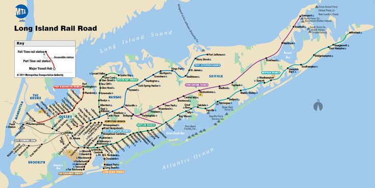 The longest railroad in the United States operating under its original name, the Long Island Railroad is also the busiest by a considerable margin. With dozens of stations and multiple lines, it can be a little tricky finding your way to your destination. Before heading out on your next train adventure, be sure to check our LongIsland.com's LIRR page, which features schedules, maps, and live status updates to help your plans stay on track!