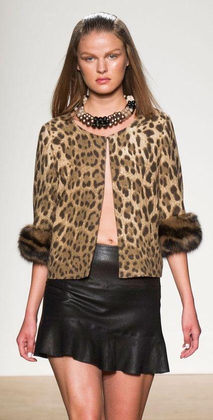 love the jacket....Simonetta Ravizza at MFW Spring 2014