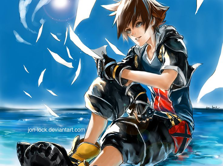 Sora by Jon-Lock.deviantart.com on @deviantART