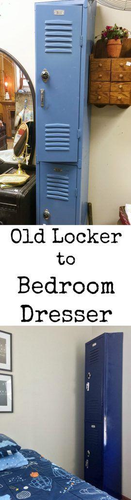 One Room Challenge: DIY Locker Dresser - Lemons, Lavender, & Laundry
