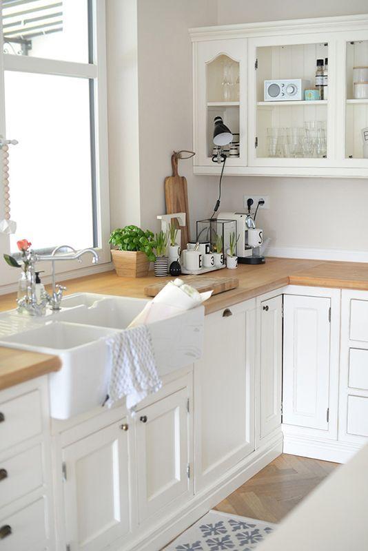 die besten 25+ moderne landhausküche ideen auf pinterest ... - Moderne Landhauskche Mit Kochinsel