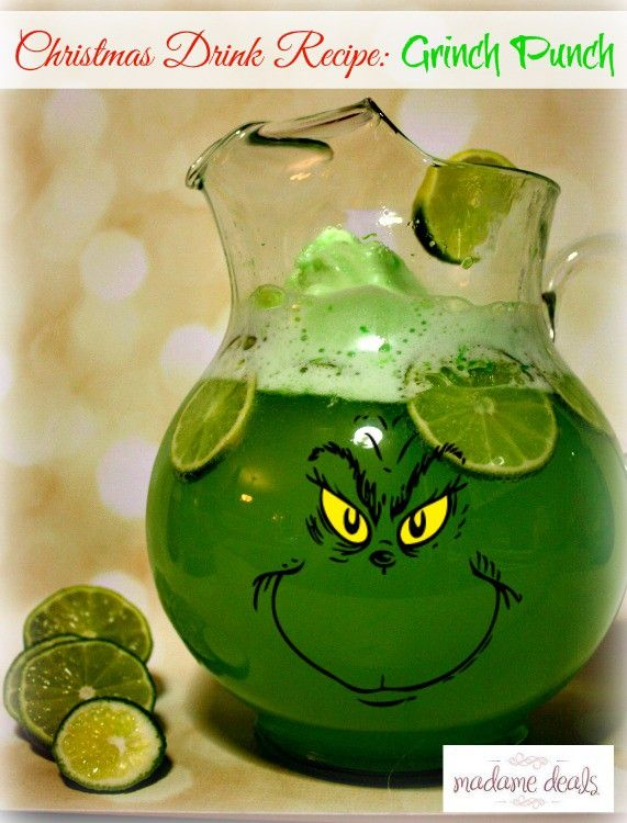 If you are looking for an easy and super cute Christmas drink recipe that adults and kids alike will love? Then you have got to check out my Grinch Punch!