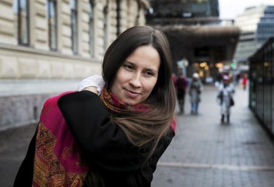 Vilja-Tuulia Huotarinen, Finnish writer and poet
