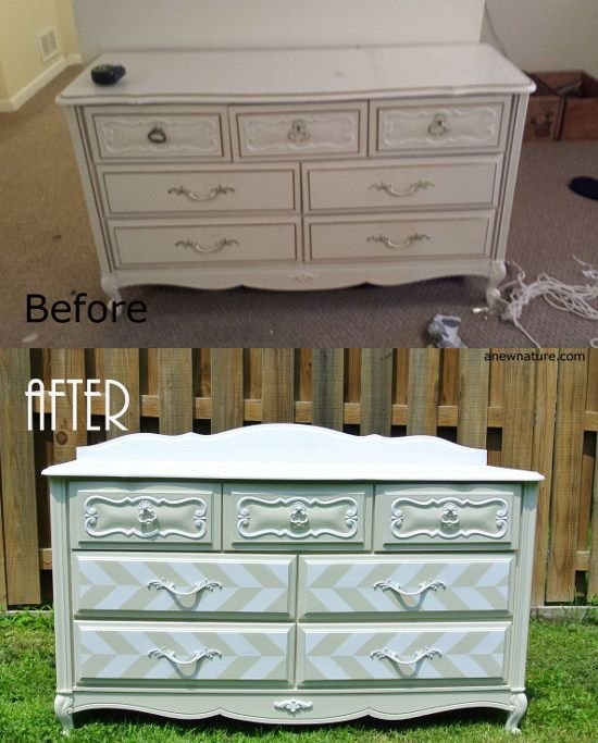 Home Decor Home Based Business: Before And After, Dresser Redo By Anew Nature, St. Louis