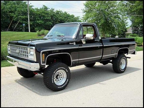 1980 Chevrolet Silverado 4x4 Pickup 350 CI, 4-Speed presented as lot F90 at Des Moines, IA 2010 - image1