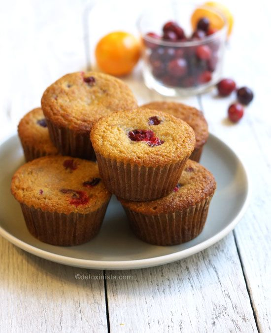 Orange Cranberry Coconut Flour Muffins (Paleo) « Detoxinista