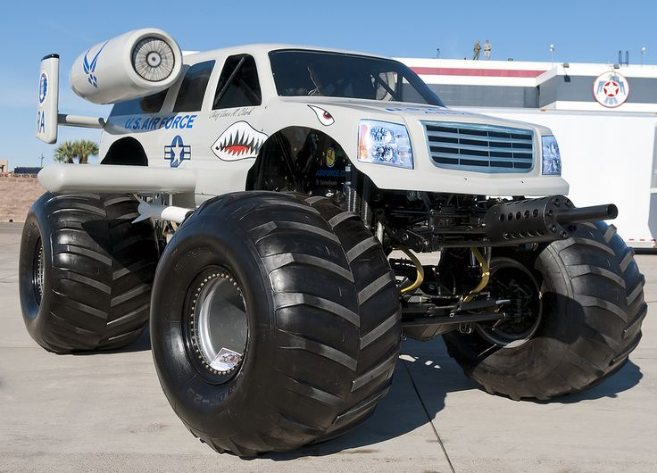 Best Monster Trucks Images On Pinterest X Big Monster - Decals for trucks customizednailed it plumbers custom car decal that makes him look like