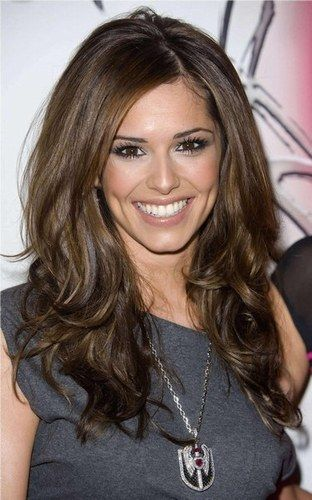 Perfect medium brown hair color, beautiful make-up too!