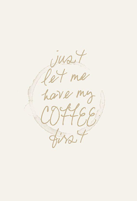 COFFEE POSTER Coffee Shop Poster by EncoreDesignStudios