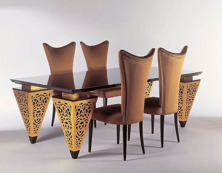 Egyptian inspired furniture designs