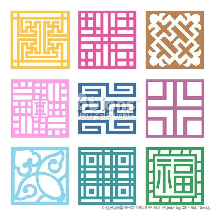 격자 무늬문양 세트. 기하학 패턴, 한국 전통문양 패턴디자인. (BPTD020122) Plaid Symbol sets. Geometric Pattern Design. Korean traditional Pattern is a Pattern Design. Copyrightⓒ2000-2014 Boians.com designed by Cho Joo Young.