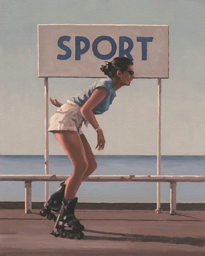 Art Prints Gallery - Blades II (Limited Edition), £559.00 (http://www.artprintsgallery.co.uk/Jack-Vettriano/Blades-II-Limited-Edition.html)