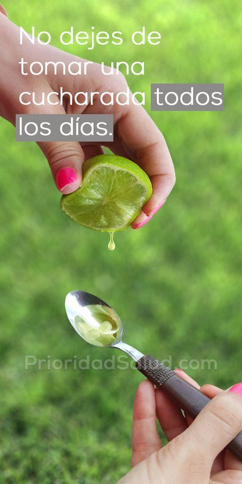 Tómate el jugo de 1 limón con 1 cucharada de aceite de oliva todos los días, observa tu cuerpo. ¡Nunca te olvidarás de mí!