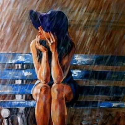 regenachtig weer op schilderijen - Google zoeken