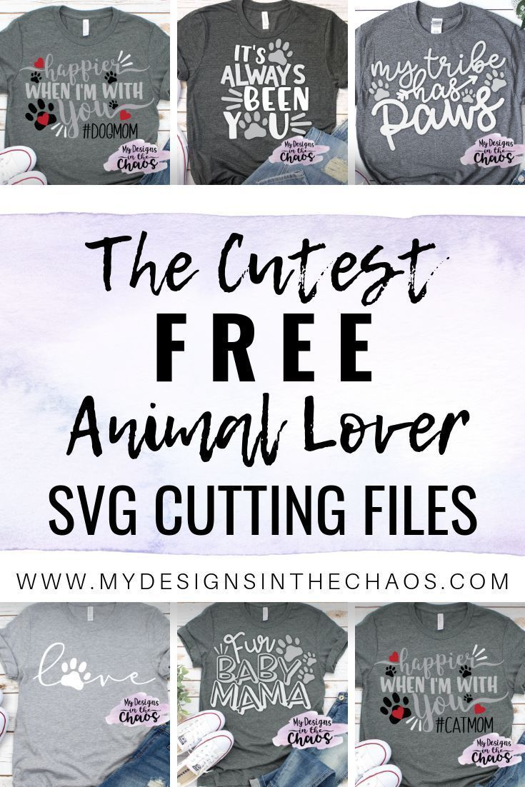 Pin on Animal Lovers SVG files Silhouette and Cricut