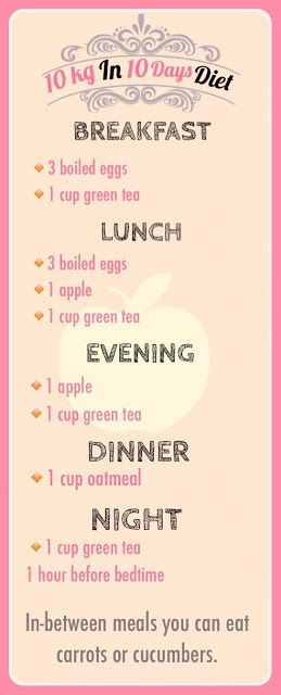 Here is a 900 calorie diet plan which will help you to lose weight in just 10 days.