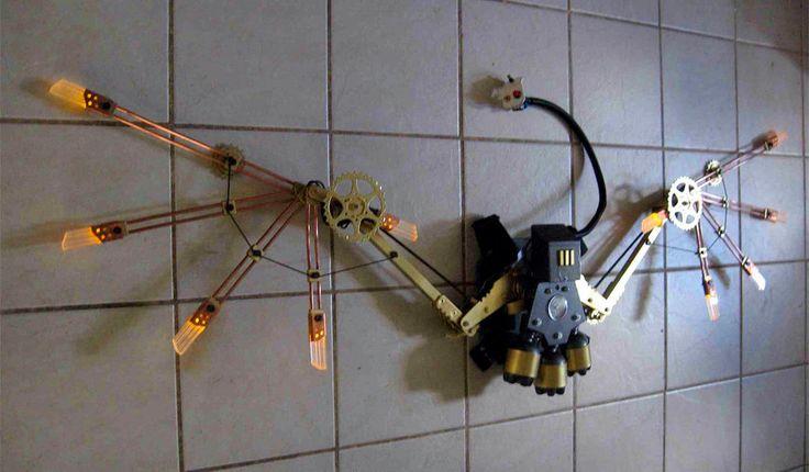 Deluxe Steampunk Wings @ Etsy. Seller: BionicConcepts. Get it @ http://www.etsy.com/listing/90598890/deluxe-steampunk-wings-open-6-feet-wide