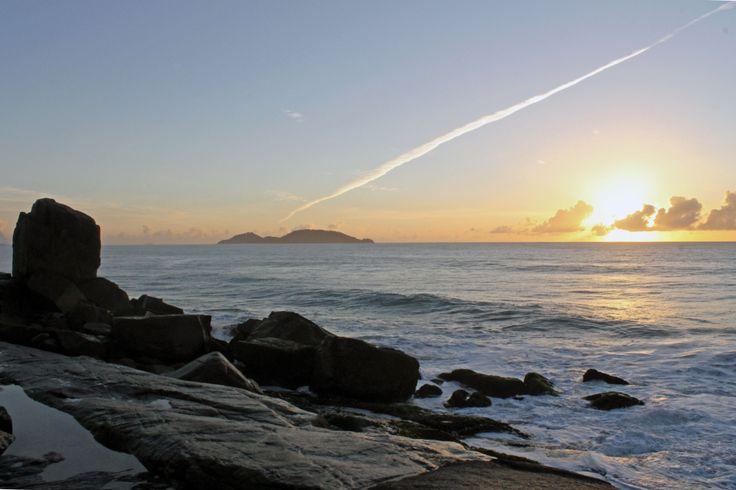 Nascer do sol no Morro das Pedras - Floripa