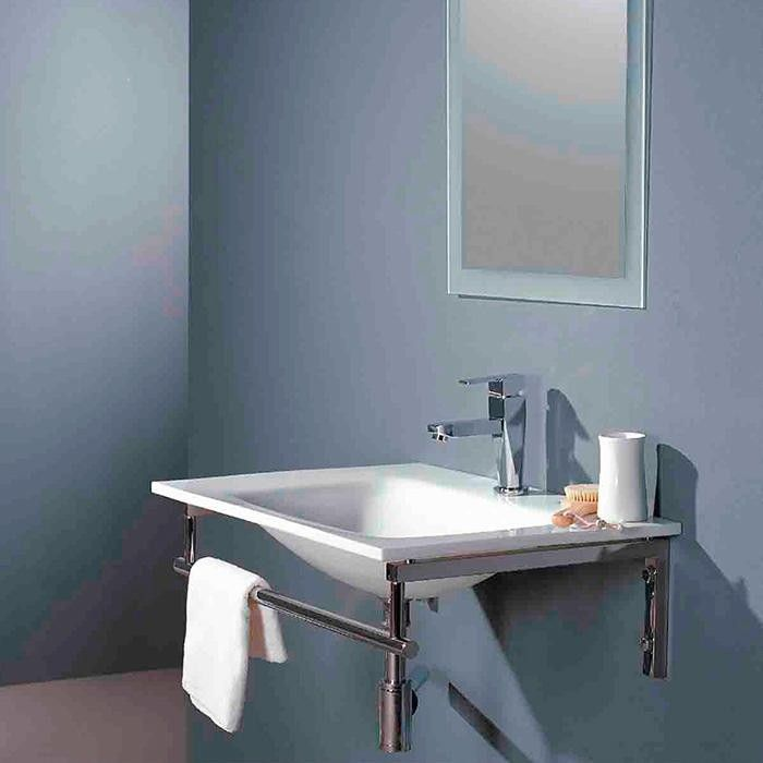 Glass sink sinks and glass walls on pinterest for Yesler wall mount glass sink