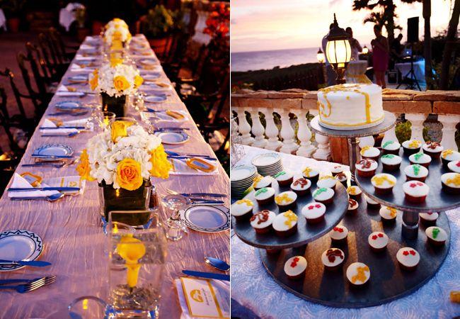 A Bright Yellow Beach Wedding In Aruba - The Knot Blog