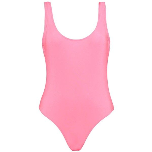 Boohoo Guam Scoop Back Swimsuit ($8) ❤ liked on Polyvore featuring swimwear, bikinis, high waisted swim suit, high waisted swimsuit, high waisted two piece swimsuit, bandeau bikini and high waisted bikini swimwear