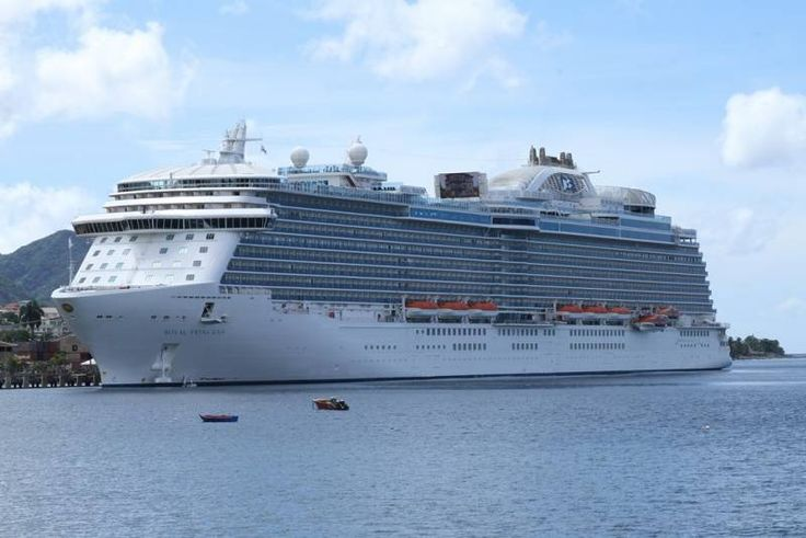The Royal Princess in Dominica