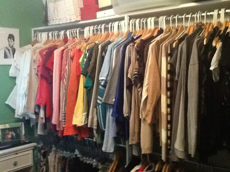 Charming Color Coordinated Closet