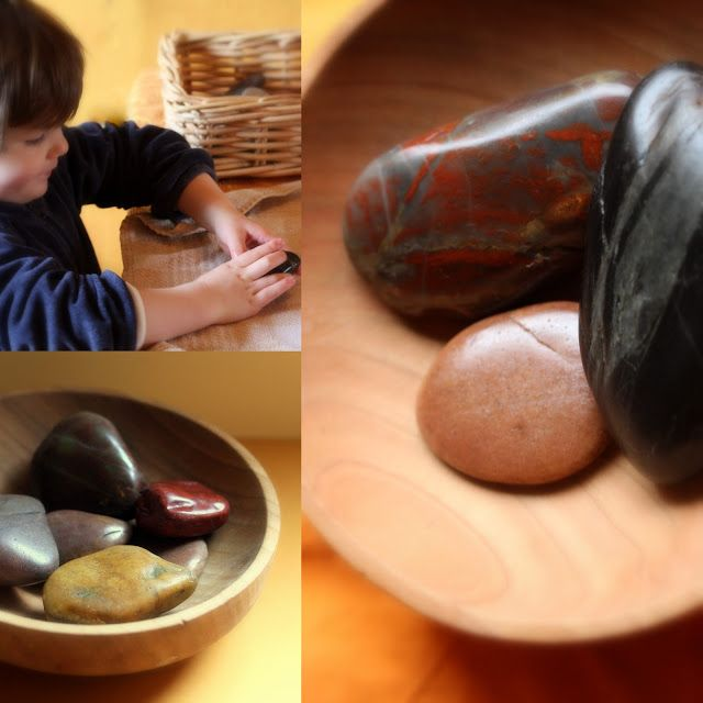 Daily Colours : Helping the Gnomes; DIY - Stone Polishing