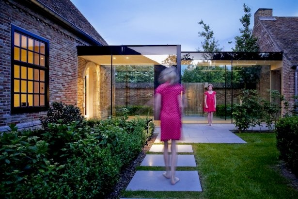 Loving this Glazed link on the barn conversion Project - House GL - via @Architizer (Official)