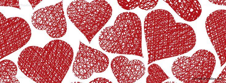 Hearts Facebook cover