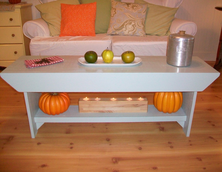 Coffee table craft ideas pinterest for Coffee table craft ideas