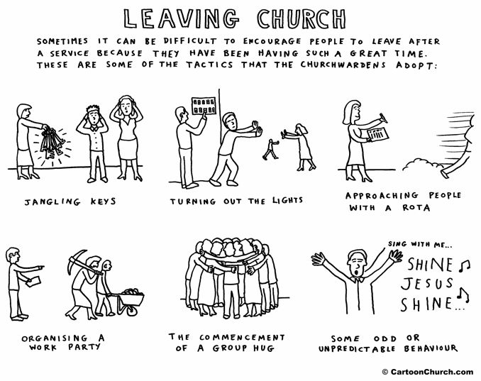 6 Ways To Get People to Leave Church - Fellowship of Saints and ...