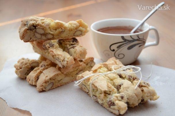 Cantuccini - orieškové sušienky (fotorecept) - Recept