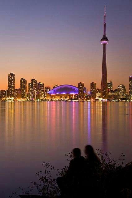 Toronto, Canada - (the pin via Cida Panfilo • https://www.pinterest.com/pin/530861874797553770/ )