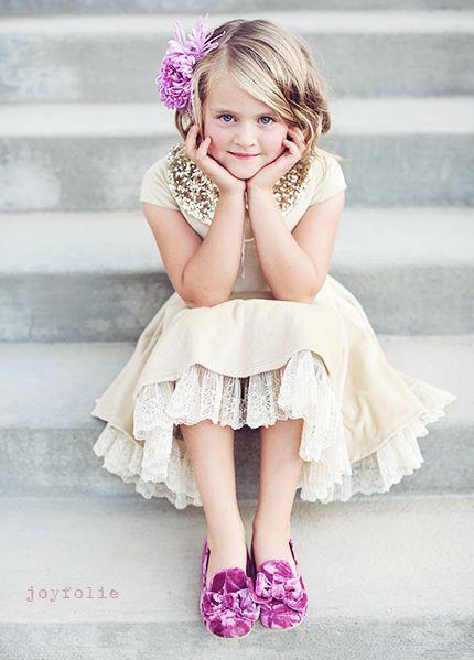 Willow Dress with purple velvet loafer