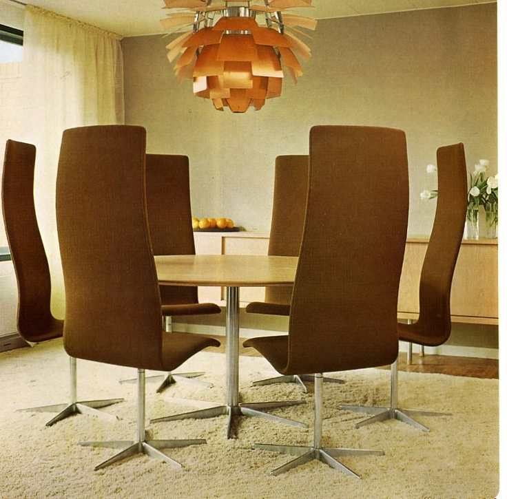 Early 70s Catalogue Containing Jacobsen Furniture In Many