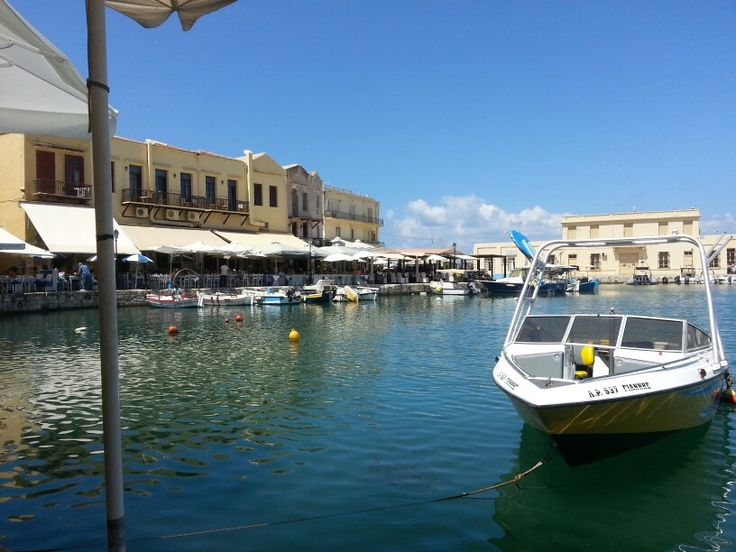 Oude haven Rethymnon