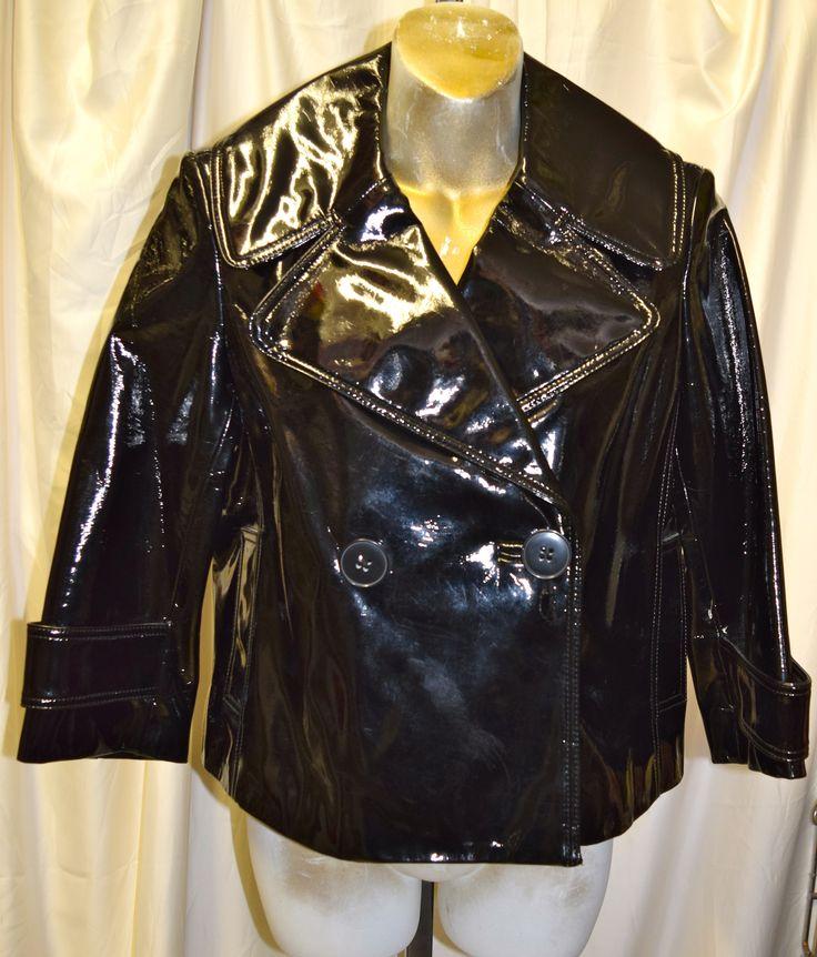 Vintage Peter Nygard PVC Jacket Size 6