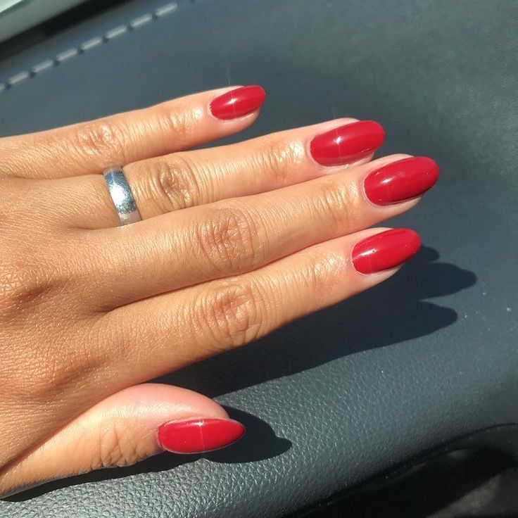 Beautiful shade brought to you by #essieforeveryummy This rich red reminds me of...