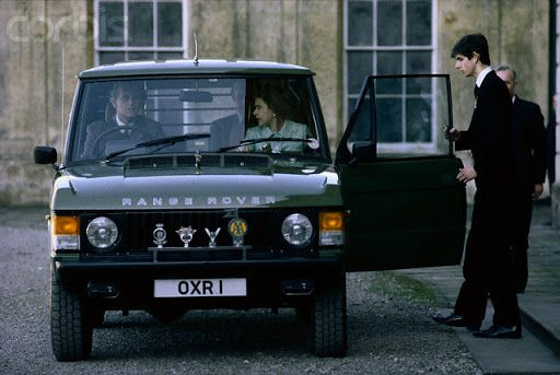 The Range Rover Classic