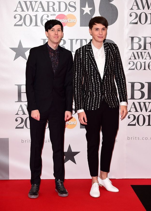 Phil Lester & Dan Howell | Here's Everyone Who Attended The 2016 Brit Awards <--- YOOO I watched the live stream from start to finish, it was great!! :D