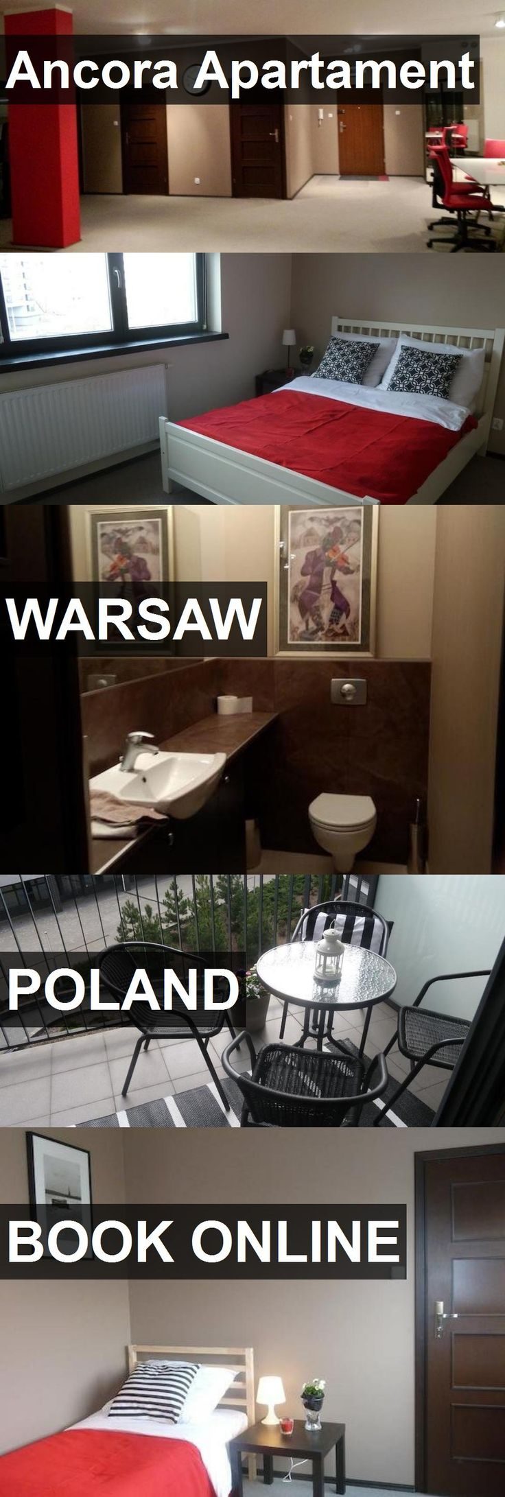 Hotel Ancora Apartament in Warsaw, Poland. For more information, photos, reviews and best prices please follow the link. #Poland #Warsaw #travel #vacation #hotel