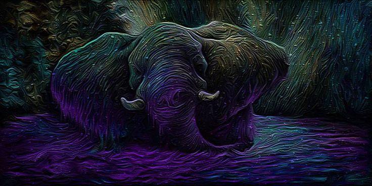 digital paintings on Behance