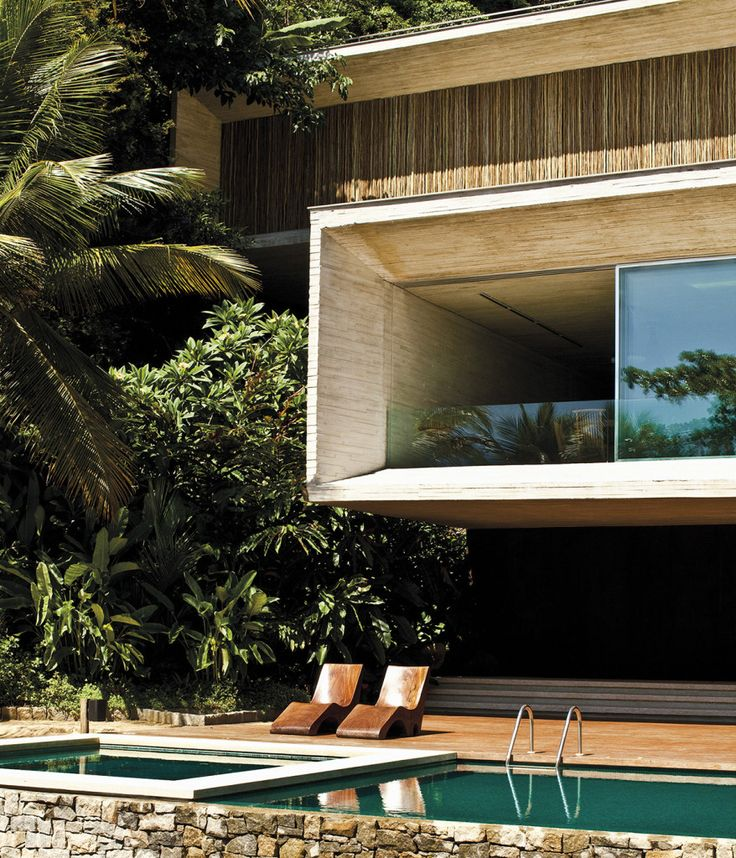 "atheartathome: ""HOUSE BY MARCIO KOGAN, PARATI BZ, AD FRANCE Photo Matthieu Salvaing http://www.matthieusalvaing.com/ """