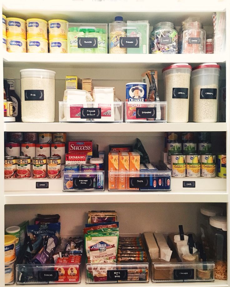 Pantry perfection. #thehomeedit