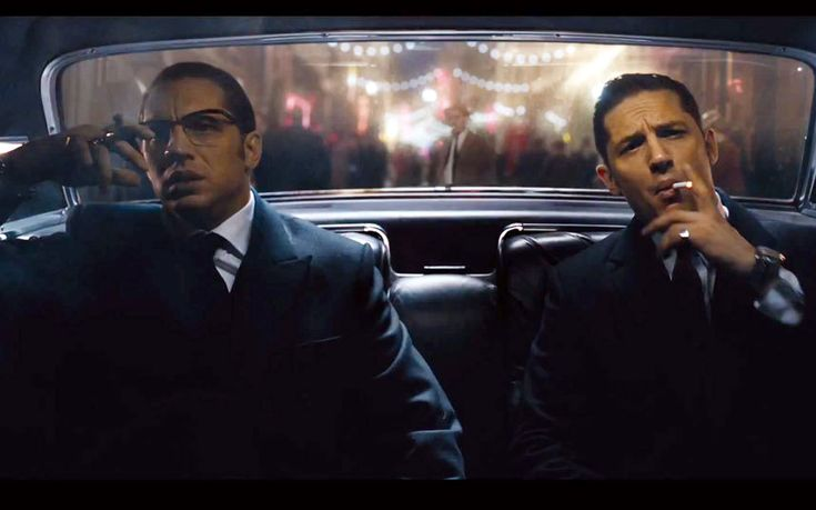 What's better than Tom Hardy?? Two Tom Hardy's!!! In the brand new trailer for the upcoming film Legend, the Mad Max star pulls double duty as twin gangsters in 1960s era London. Reggie Kray is a rising star in the gang world, he's the brains. Ronnie is his mentally-unstable brother, he's the brawn.