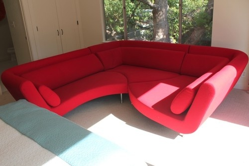 Pre Loved Red Mid Century Mod Uber Urban Ligne Roset Yang Modular Sofa  Sectional | Ladies & Gentlemen, Please be seated... | Pinterest | Apartments