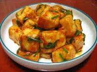 Cantinho Vegetariano: Tofu Frito com Molho Apimentado (vegana)